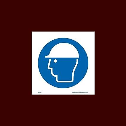 Casco de seguridad/cabeza protección plástico señal (mppe45) – Equipo de protección Personal