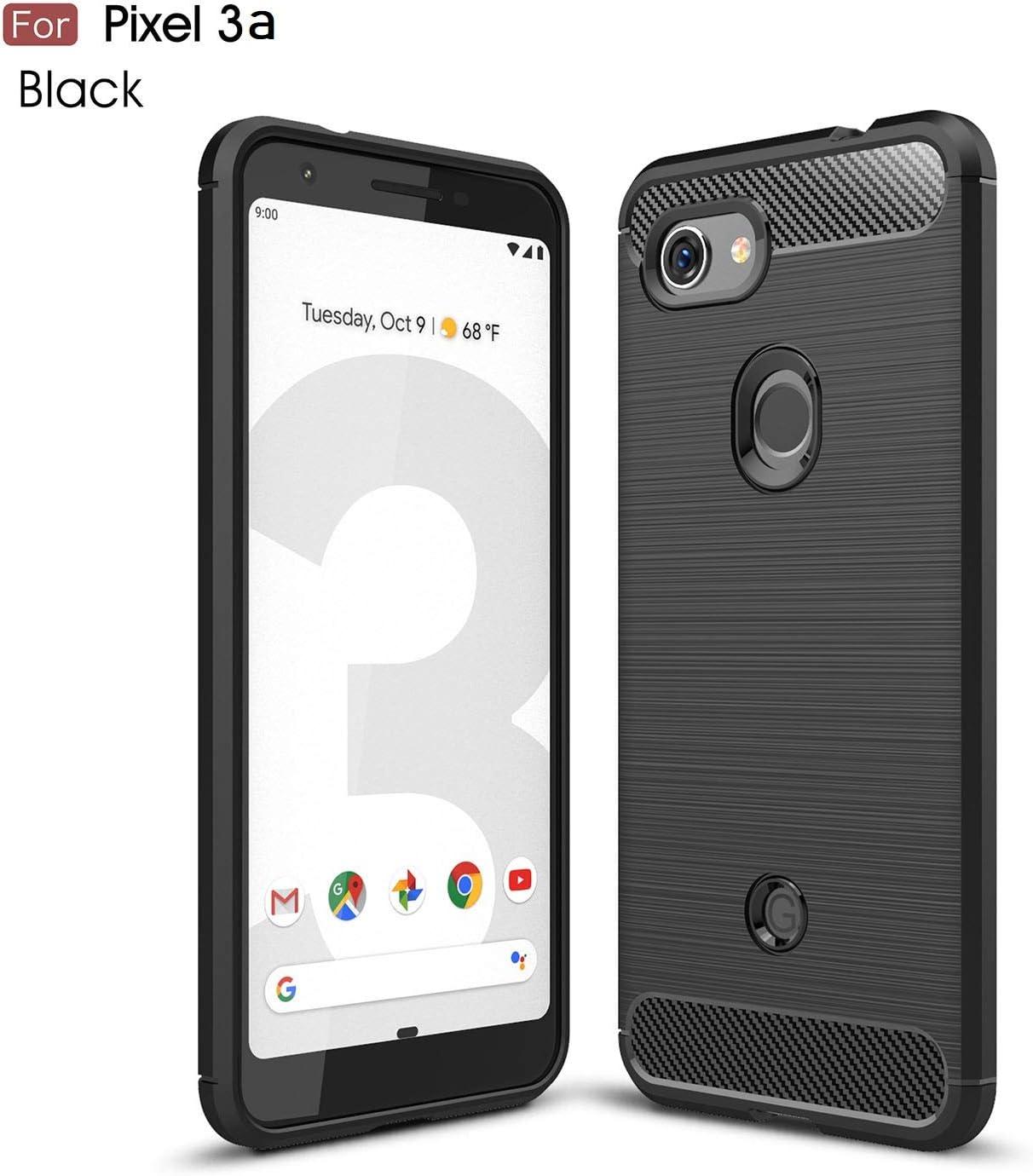SEECASE Funda Google Pixel 3a, Carbon Fiber Texture Design ...