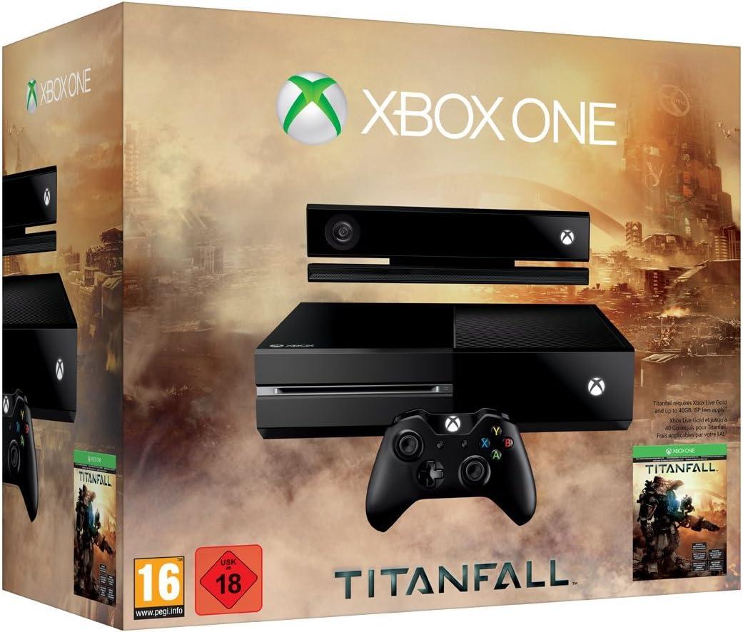 Microsoft Xbox One + Titanfall 500GB Negro - Videoconsolas (Xbox One, 8192 MB, Unidad de disco duro, 500 GB, Blu-Ray, Negro): Amazon.es: Videojuegos