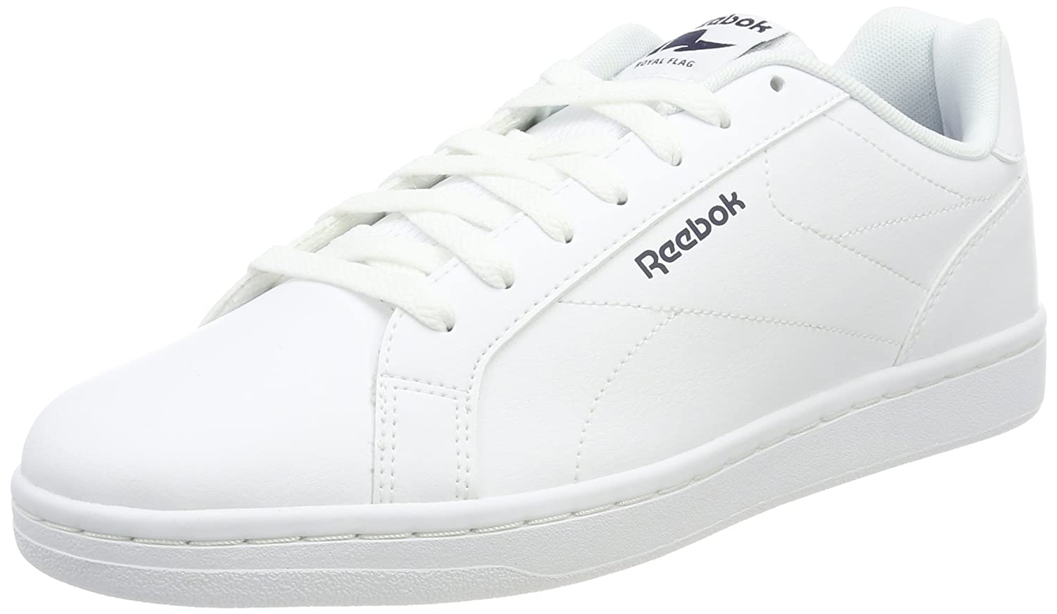Reebok Royal Complete CLN, Zapatillas para Hombre, Weiss (White/Collegiate Navy 0), EU