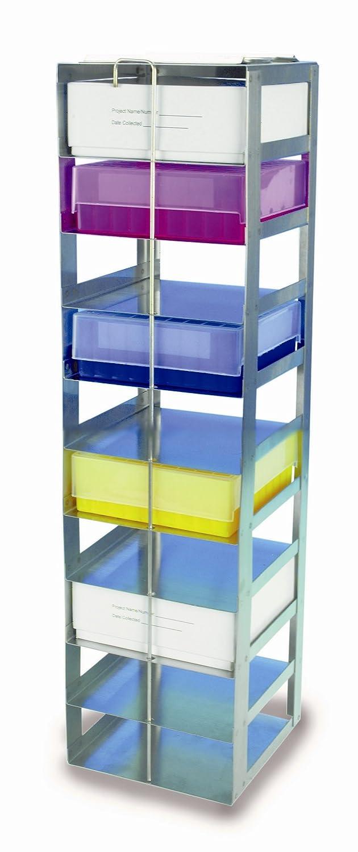 Heathrow Scientific HD2862A - Estantería para refrigerador (con 10 estanterías para cajas de 53 mm de altura, acero): Amazon.es: Industria, ...