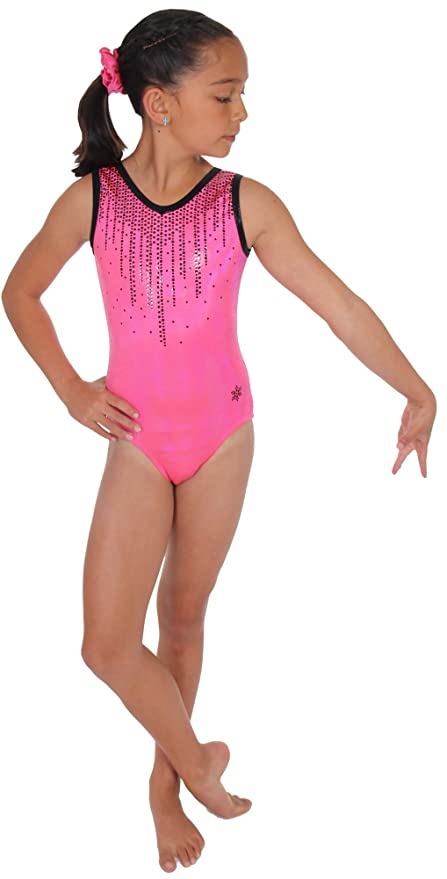 83e41396e56a Amazon.com   Snowflake Designs Cascade Gymnastics or Dance Leotard ...