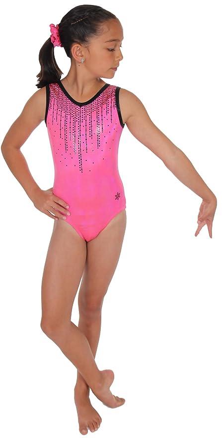 edc79250cfb Snowflake Designs Coral Cascade Gymnastics or Dance Leotard (Child Small)
