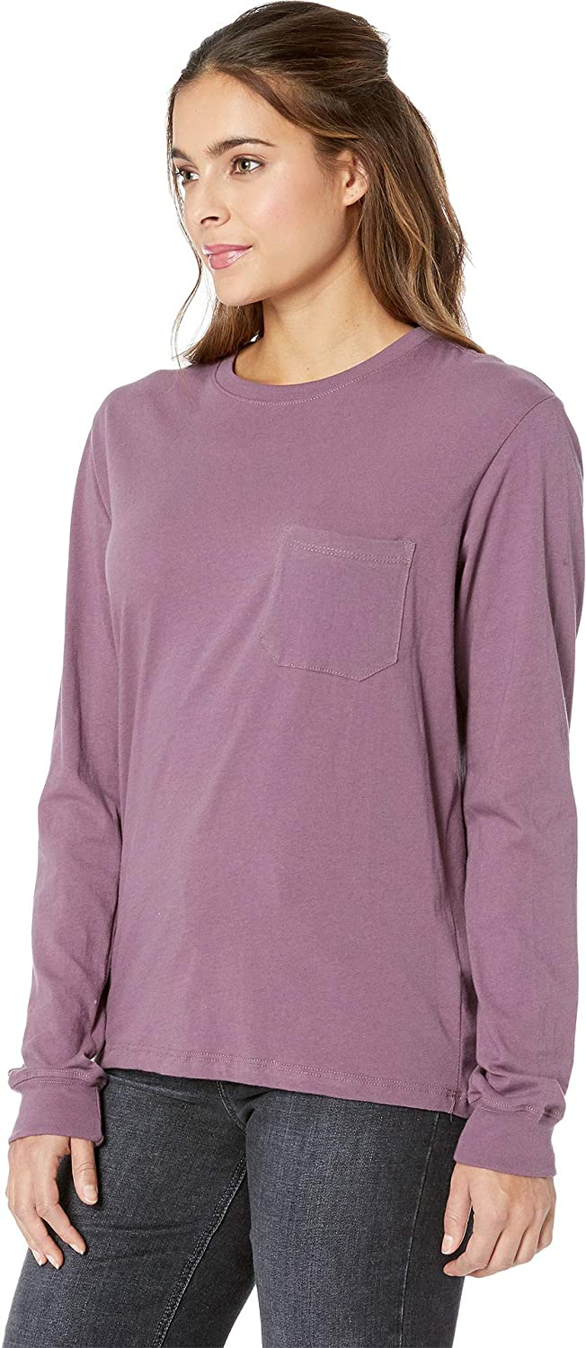 30f33c8d1ad8c Richer Poorer Womens Long Sleeve Pocket Tee at Amazon Women s Clothing store