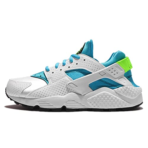 innovative design e4ddb 53d16 Nike Women Low Sneakers 634835 109 WMNS AIR Huarache Run Size 38.5  White/Light Blue