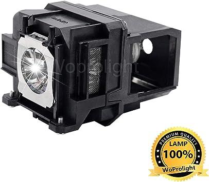 WoProlight - Lámpara de Repuesto para proyector Epson ELPLP78 para ...
