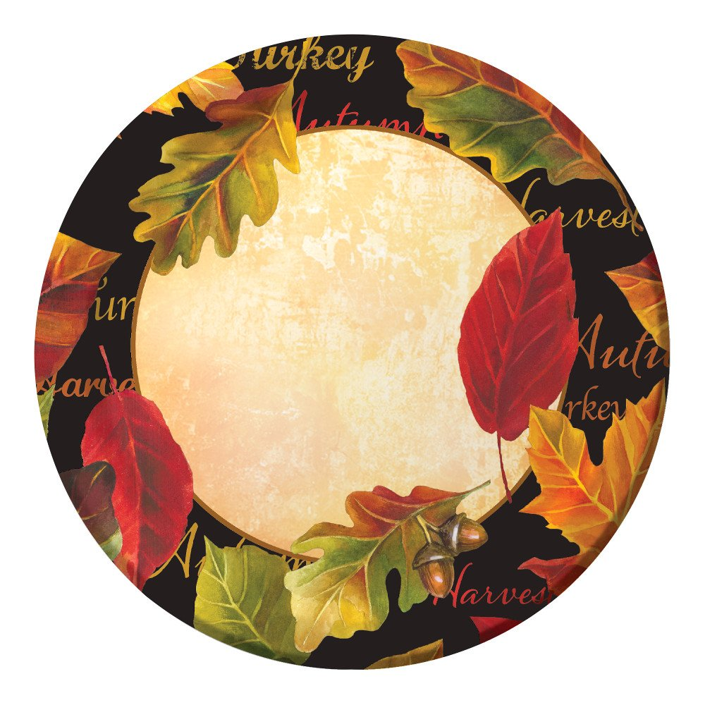 Creative Converting 8 Count Sturdy Style Paper Dessert Plates 7u2033 Autumn Expressions  sc 1 st  Fall Home Decor & Fall Words Paper Plates