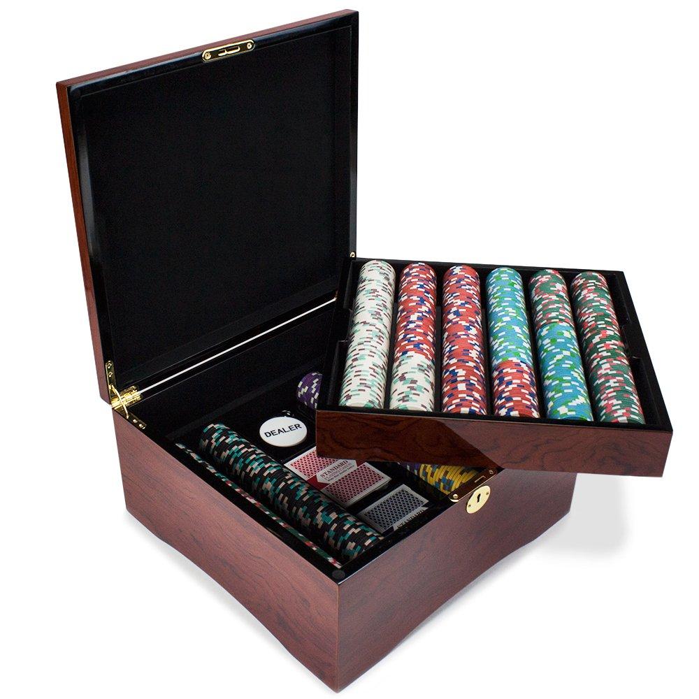 750 Ct Poker Knights Poker Poker Ct Chipセットin Mahogany Carryケース、13.5-gram Poker HeavyweightクレイComposite by Claysmithゲーム B01L2MYEHO, e-shopNAKAZEN中善楽器:207edd3f --- itxassou.fr