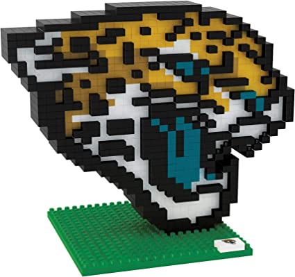 NFL Team BRXLZ 3D Logo Puzzle Set packaging may vary