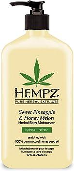 Hempz Natural Sweet Pineapple & Honey Melon Herbal Body Moisturizer
