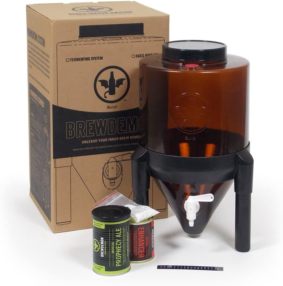 Conical Fermenter Beverage Dispenser