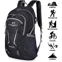 Loocower 45L Leichte Packable Reiserucksack Wanderrucksack, Multifunktionale Tagesrucksack, Faltbare Camping Trekking Rucksäcke, Utra Leicht Outdoor Sport Rucksäcke Tasche