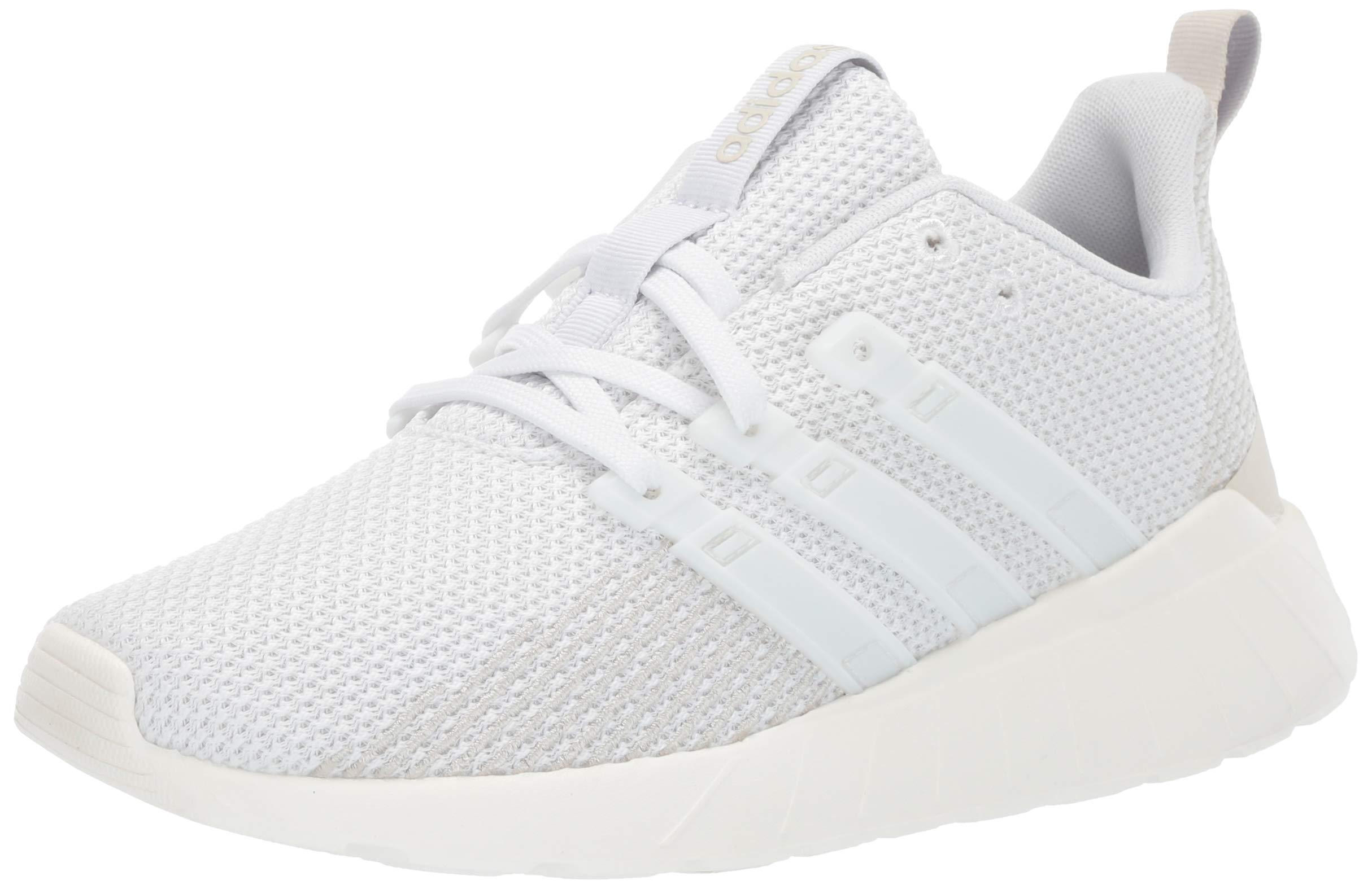 adidas Unisex Questar Flow, white/white/raw white, 1.5 M US Little Kid