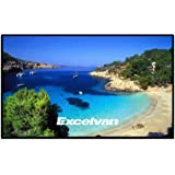 "Excelvan 84"" 16:9 73""x41"" Viewing Area 1.1 Gain Matte White Projector Projection Screen"
