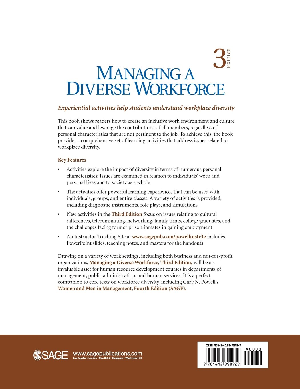 Managing a Diverse Workforce: Learning Activities: Amazon co