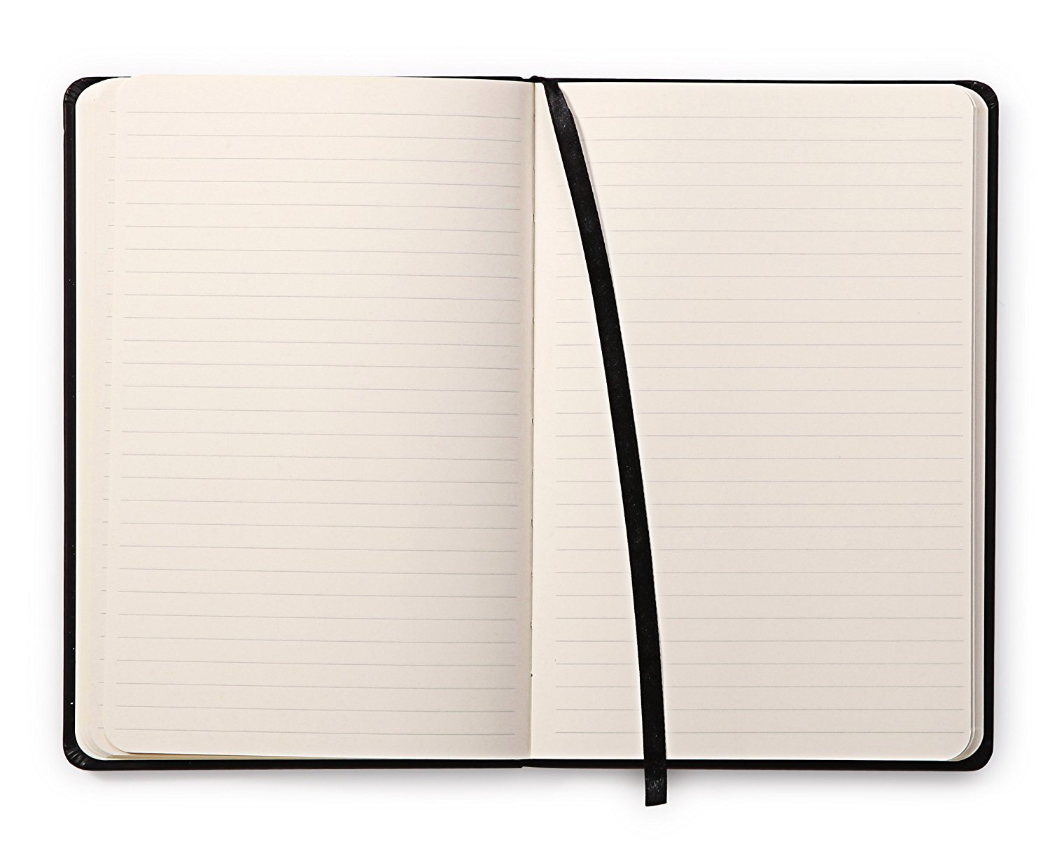 Rhodia Webnotebook Webbies - Lined 96 sheets - 5 1/2 x 8 1/4 - Black Cover by Rhodia