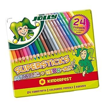 1 Stk. NEU Jolly Superstick Kinderfest Kirschrot