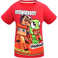 Thombase Boy Unspeakable Pullover Hoodie Short Sleeve Top Tee Games Family Cotton T-Shirt