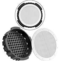 Coffee Filter Cap Reusable Stainless Steel Mesh Filter Compatible with AeroPress Coffee Maker, Aeropress Coffee and…