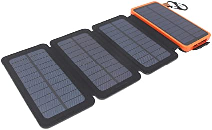 Amazon.com: itscool Cargador Solar Solar Power Bank 12000 ...