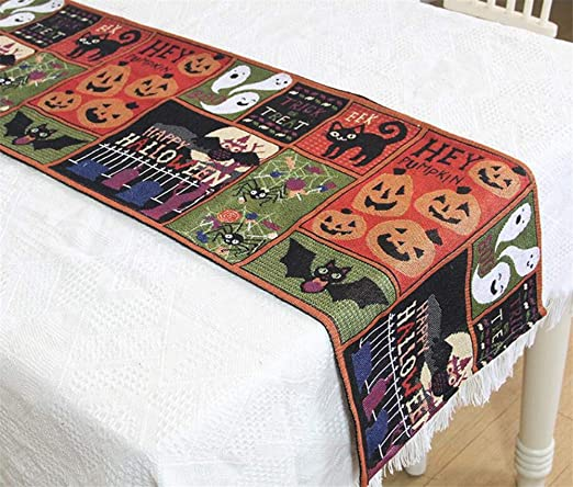 CRAZY JACK Pieces From My Heart Halloween //Fall Table Runner Applique Pattern