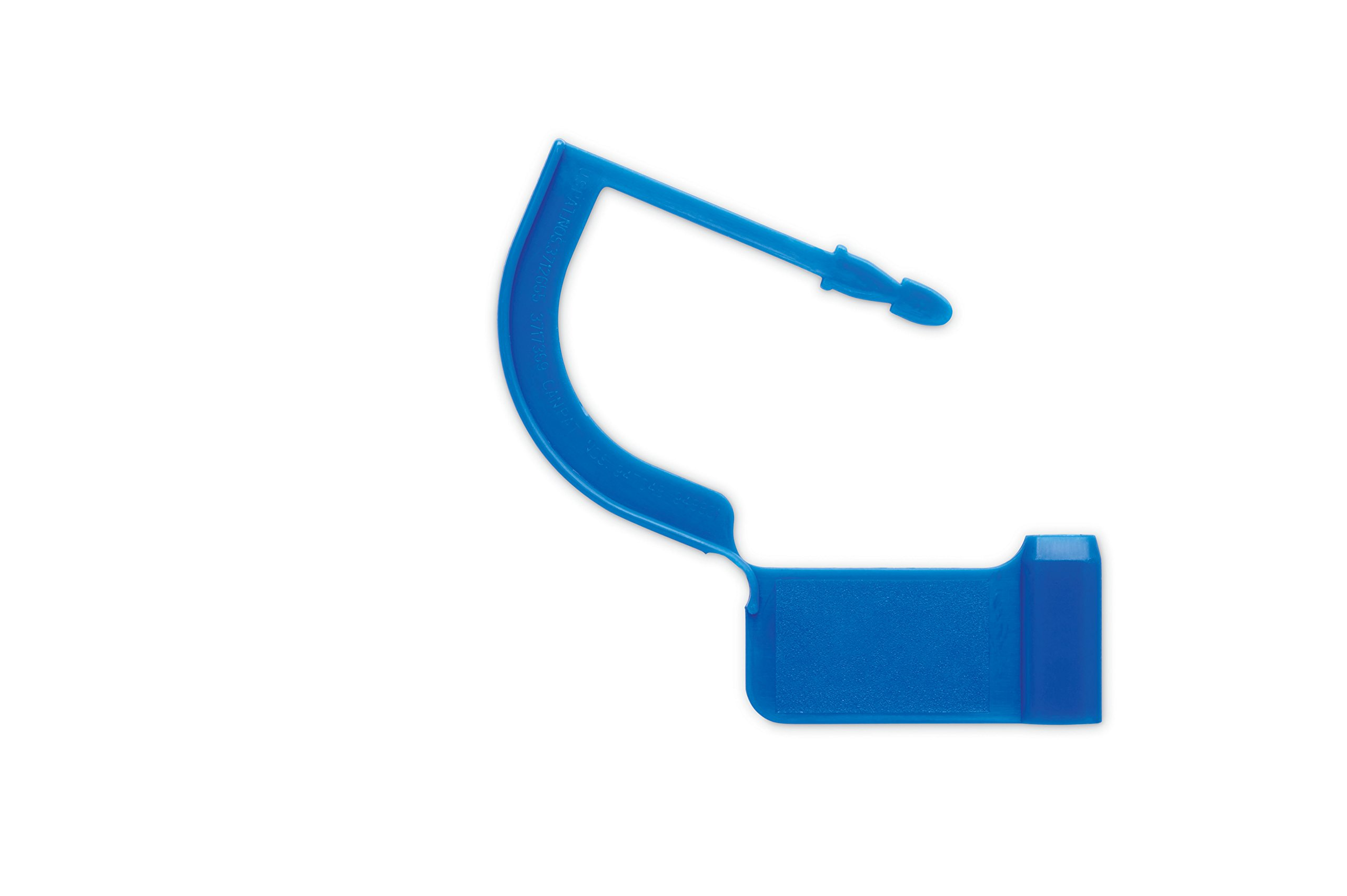 Key Surgical LT-002-1000 Case Locking Tag, Blue (Pack of 1000)