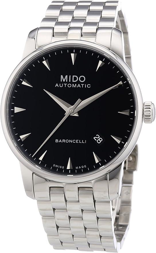 MIDO ETA 2824-2 Uhren Baroncelli Ii Herrenuhr 38mm M86004181