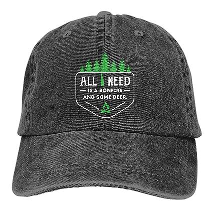 Adult Fashion Cotton Denim Baseball Cap This Guy Needs A Beer Classic Dad Hat Adjustable Plain Cap