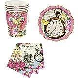 Alice In Wonderland Party Kit For 12