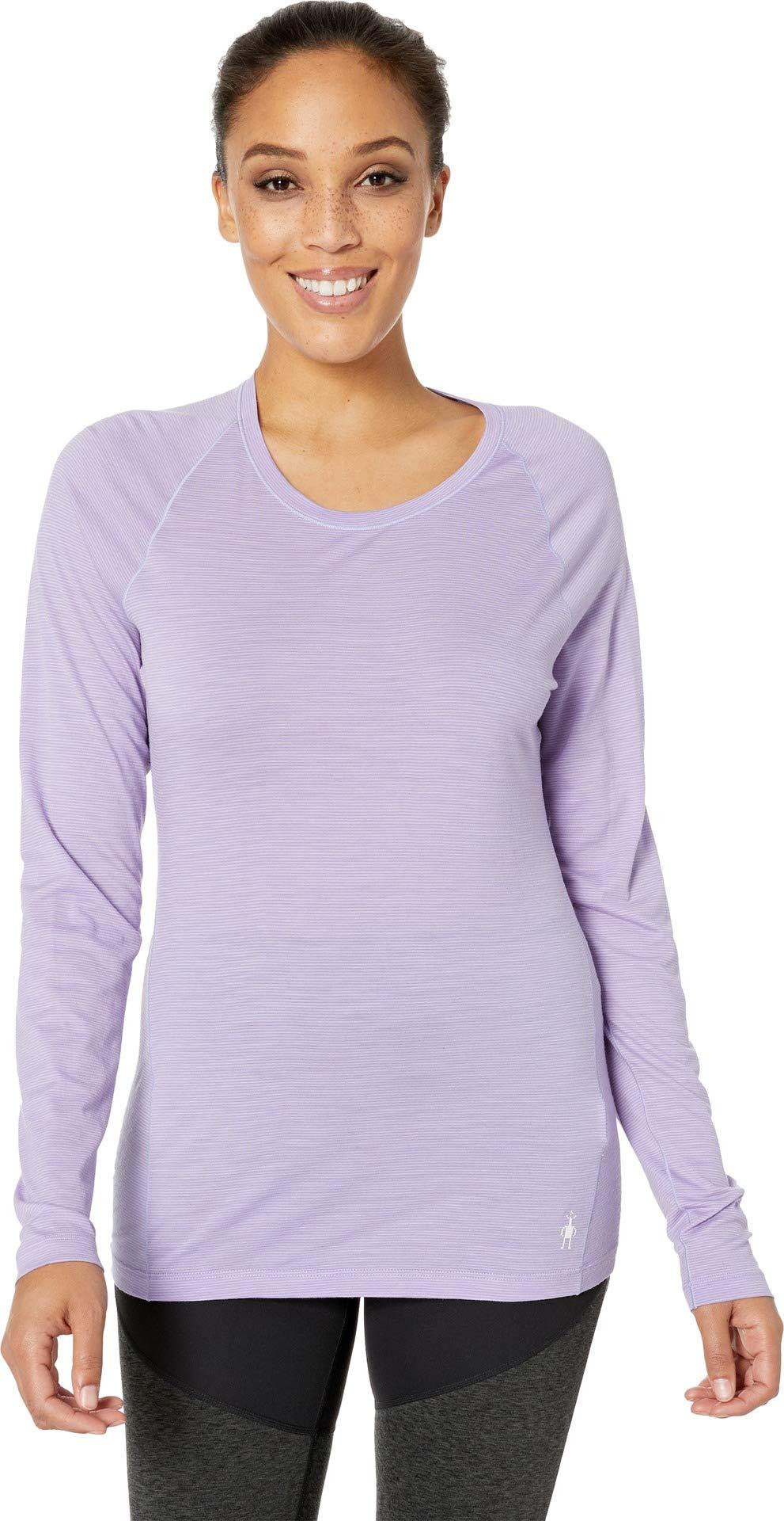 SmartWool Women's Merino 150 Baselayer Pattern Long Sleeve Cascade Purple X-Small