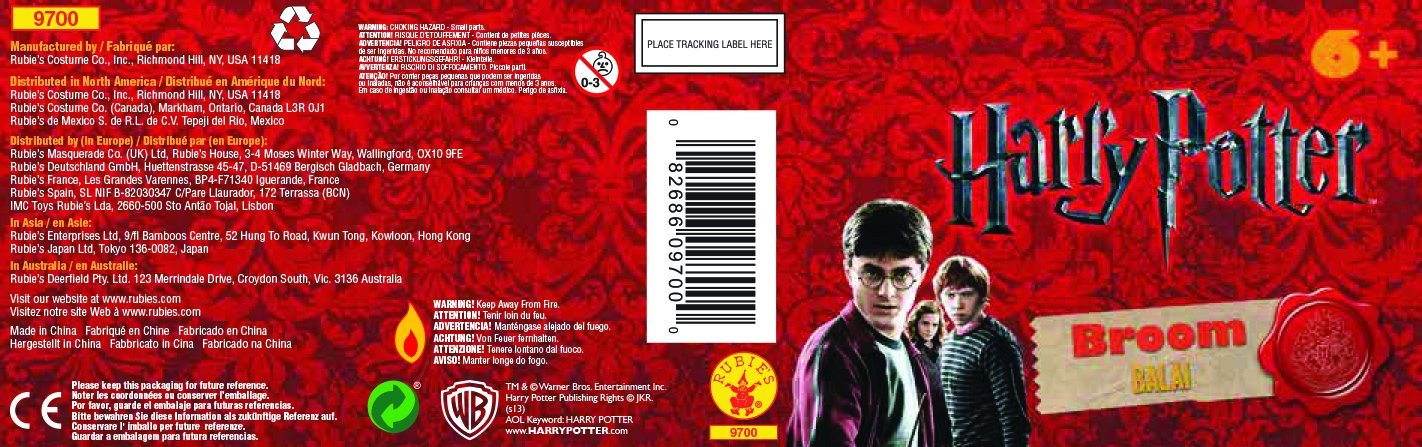 Rubies Harry Potter Broom by Rubie's