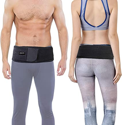 Sacroiliac Si Joint Hip Belt for Women and Men Anti-Slip Stabilizing Compression Pelvic Correction Belt for Postpartum Body Shape Slimming Recovery