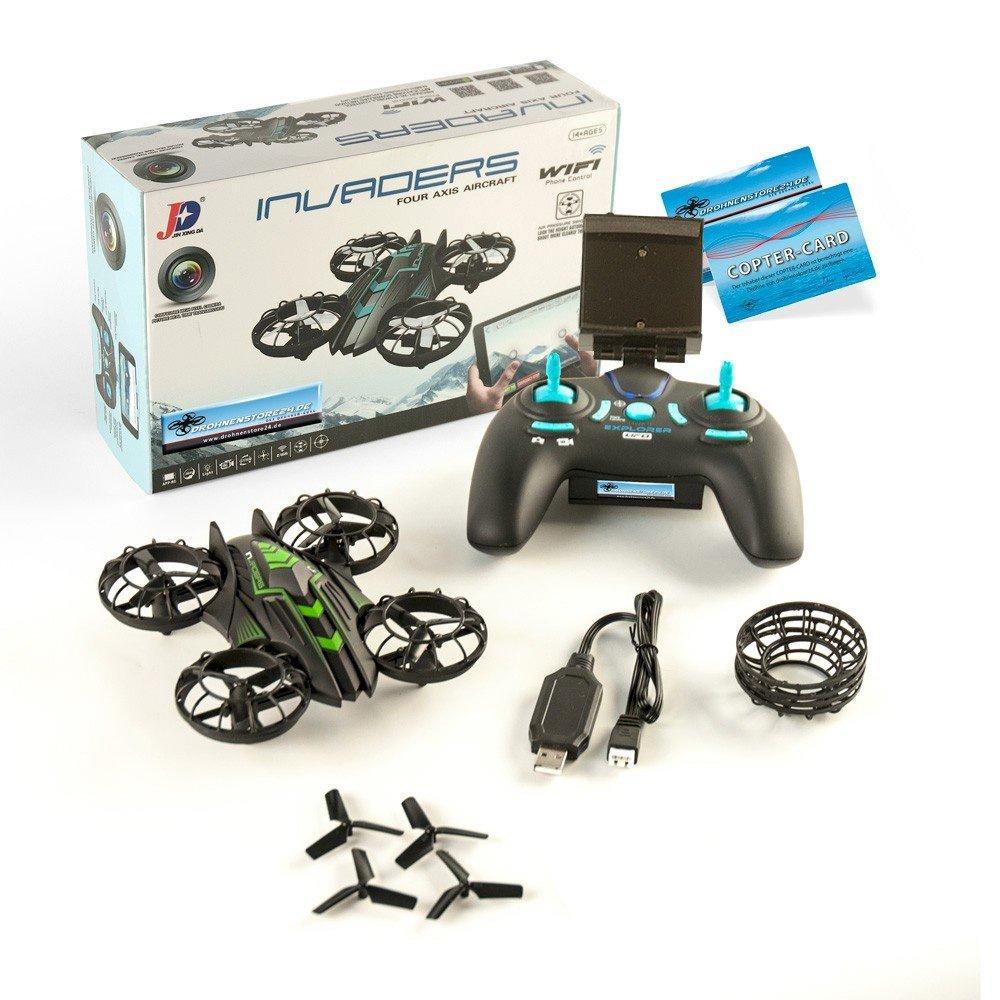 JXD Invaders 515W Kamera Mini Drohne Wifi Quadrocopter 0.3MP Kamera 515W Höhenstabil f63a01