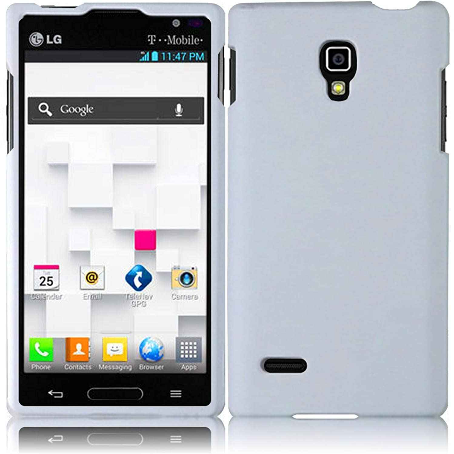 Amazon for lg optimus l9 p769 p760 hard cover case white amazon for lg optimus l9 p769 p760 hard cover case white accessory cell phones accessories ccuart Choice Image