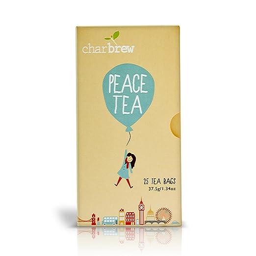 Charbrew Té Energético 4 x 25 Bolsas de Té (Provisiones para 100 Días) NATURALMENTE SIN CAFEÍNA: Amazon.es: Alimentación y bebidas