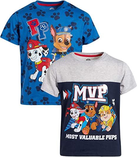 Chase Paw Patrol Toddler Boys Graphic T Shirt Size 2T