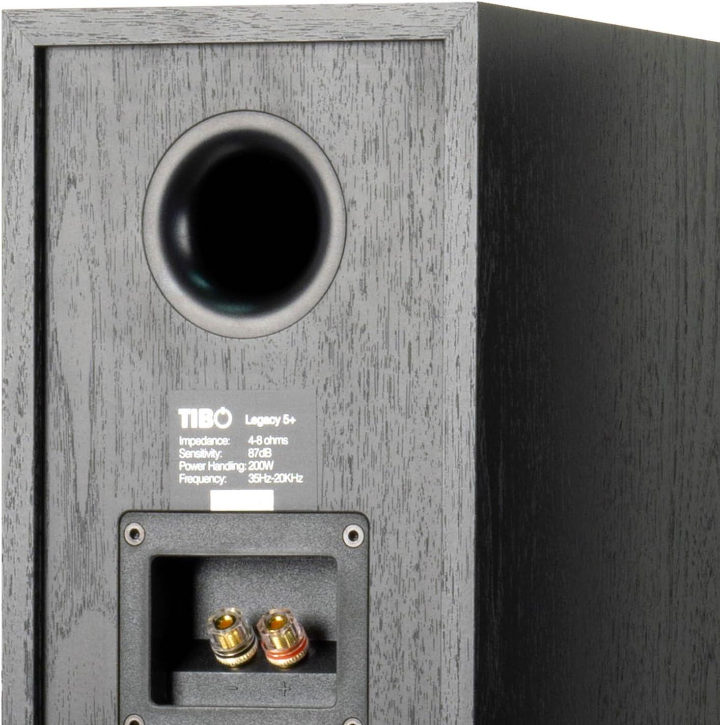Tibo Legacy 5 + Altavoz para Amplificador, Color Negro: Amazon.es: Electrónica