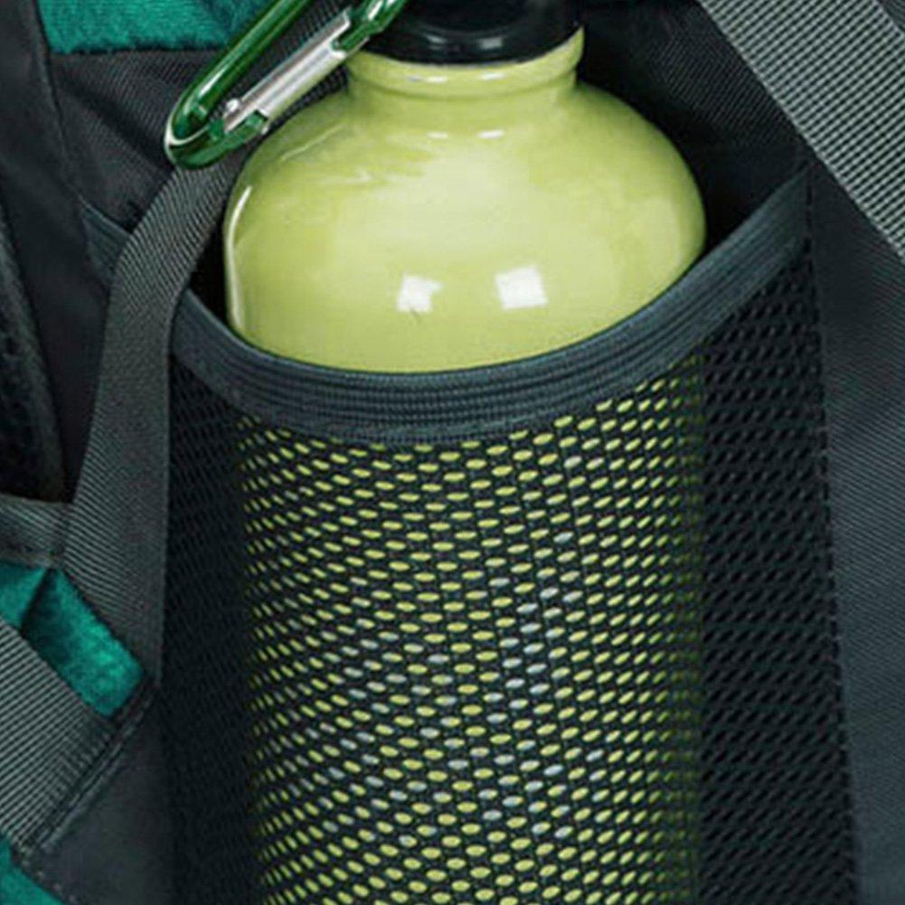 Escalada mochila Daypacks que suben del recorrido Mochila de 50 litros Senderismo mochila. Trekking ideal para deportes al aire libre Bolso impermeable del alpinismo Camping Travel