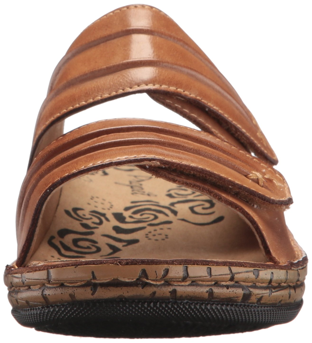 Propet Women's June Slide Sandal B072M5DP4R 9 2E US|Tan
