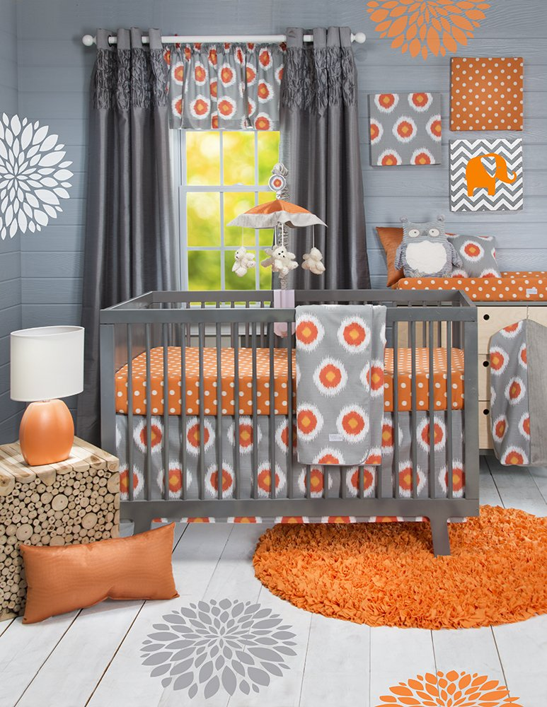 Sweet Potato Crib Bedding Set, Rhythm, 3 Piece (Discontinued by Manufacturer)