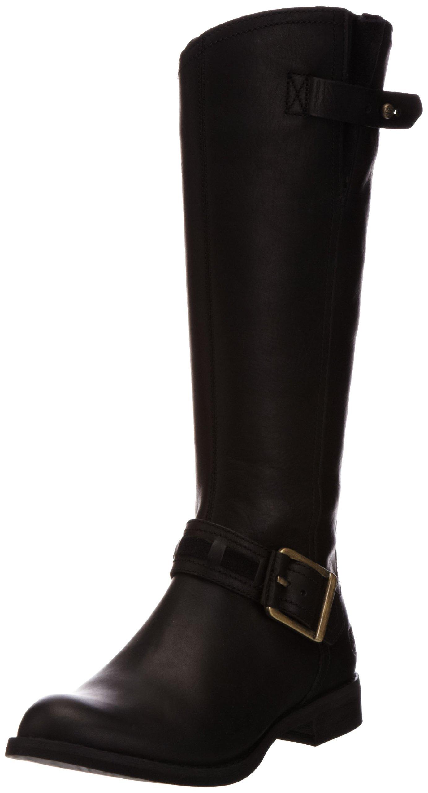 Timberland Women's Savin Hill Tall Boot,Black,6.5 M US