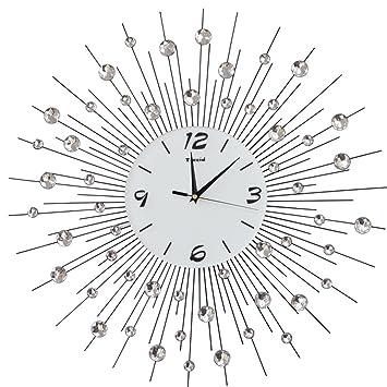 Amazon Com Weeday Tianta Wall Clock Creative Living Room Individual