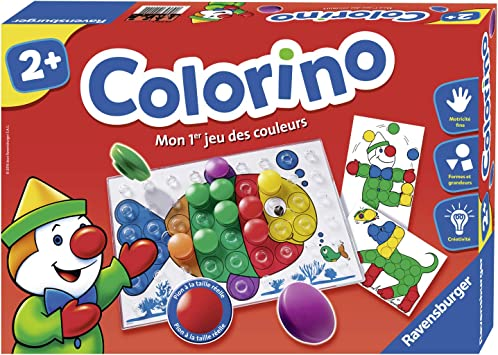 Ravensburger Colorino Jeu Educatif Mon 1er Jeu Des Couleurs A Partir De 2 Ans 24011 1 Joueur Ou Plus Amazon Fr Jeux Et Jouets