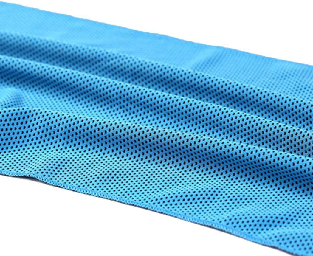 Dongdongole Cooling Towel 12 x 35.4inch Soft Absorbent Quick Dry Sports Workout Fitness Gym Towel