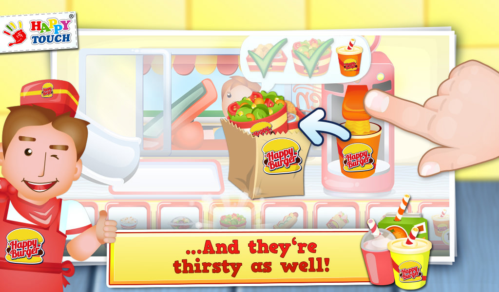 American Drive-In-King - Burger Game for Kids by Apps from