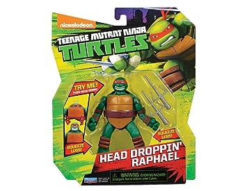 Las Tortugas Ninja - Figuras de acción de Raphael con Cabeza ...
