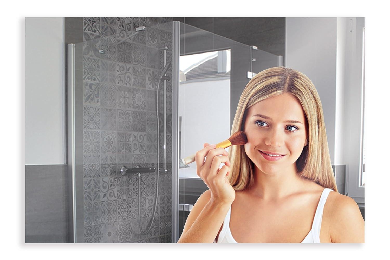 Artland Qualitätsspiegel I Wandspiegel 120 x 80 cm Spiegel 5 mm Dick Rahmenlos mit Aufhängevorrichtung B8JP