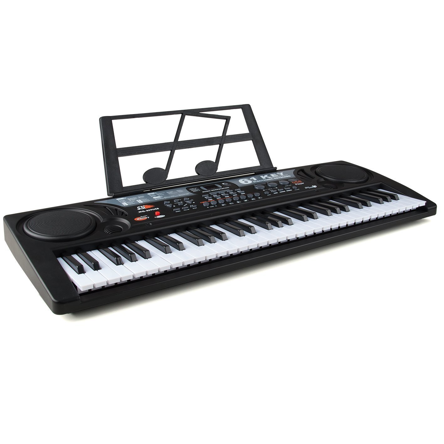 Academy of Music Electric Keyboard for Kids, 54 Key Beginner Music Station Toyrific TY5906