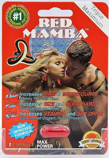 Black Mamba Sex pil beoordelingen