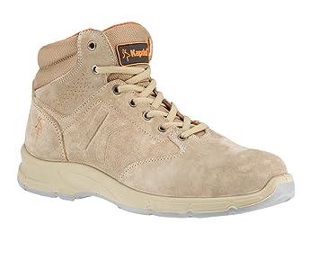 Zapatos de seguridad altas Hurricane Beige Kapriol